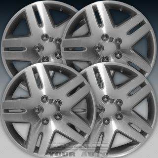 2006 2008 Chevy Impala 17x6 5 Factory Replacement Sparkle Silver Wheel Set of 4