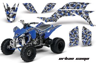 AMR Racing ATV Graphic Off Road Decal Quad Sticker Kit Yamaha YFZ 450 04 08 UCU
