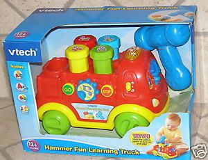 Vtech Push Pull Hammer Fun Learning Truck