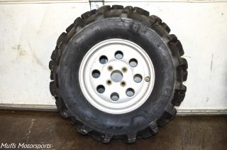 "00 Suzuki Quadmaster 500 4x4 26"" Front Rear Wheels ITP 589 Tires Rims Lt A50"