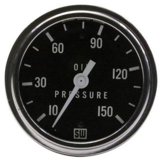 New Stewart Warner Oil Pressure Racing Gauge 10 150 PSI
