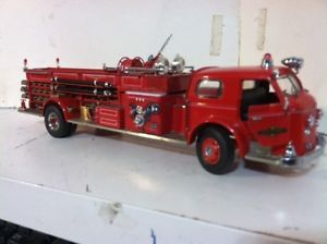 1 32 Scale Kitbash American LaFrance 700 Series Quad Fire Engine Truck