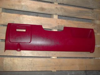 87 88 89 90 91 92 93 94 95 96 Ford Truck F150 F250 Red LH Lower Dash Trim Panel