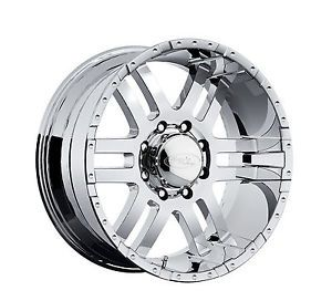 "CPP American Eagle 079 Wheels Rims 18x9"" Fits Chevy GMC 2500 2500HD Duramax"