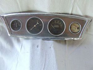 Vintage Stewart Warner Gauge Cluster Rat Rod Vintage Boat Hot Rod