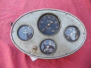 Garwood Stewart Warner Instrument Panel Gauge Cluster 41 42 46 47 48 Hot Rod