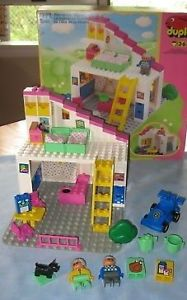 1995 Lego Duplo Grandma's House 2792 Building Block Set