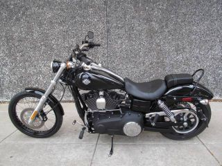 2013 Harley Davidson Dyna Wide Glide ABS Security Black
