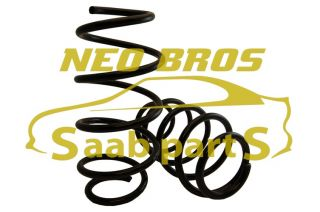 New Saab 9 3 SS B207 03 Pair Front Suspension Springs 93190595
