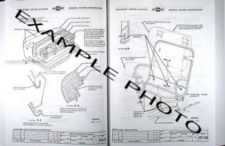 GMC Pickup Truck Assembly Manual 1960 1961 1962 1963 1964 1965 1966 Factory