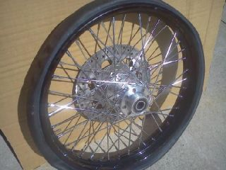 Harley Davidson Dyna Wideglide FXDWG 2013 Motorcycle Rear and Front Wheels