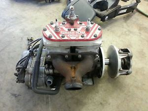 Polaris Indy XC RMK 700 Twin Snowmobile Engine Motor 97 98 99 00 01