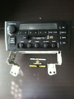1998 1999 Lexus ES300 Radio Cassette Player Am FM
