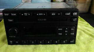 Ford Excursion 6 Disc CD Changer Player Receiver Radio Stereo Factory DVD