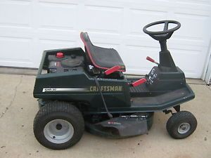 Craftsman Rear Engine Riding Mower Great Little Mower Needs A Little T L C
