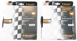 New Continental Sprinter Gatorskin Tubular Road Tire Set Front Rear 700X22C