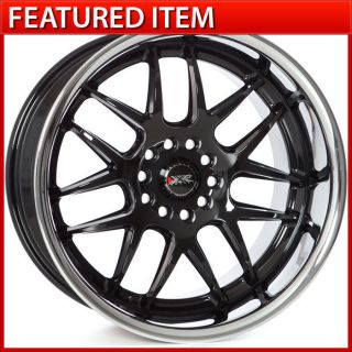 XXR 526 18x9 18x10 5 5x114 3 5x120 Gloss Black Staggered Wheels Rims 350Z G35