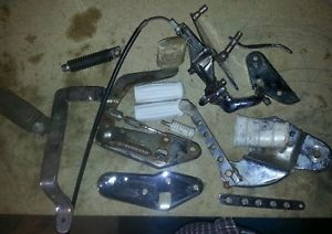 Vintage Harley Davidson Parts Lot Knucklehead Panhead Shift Lever Chrome L K