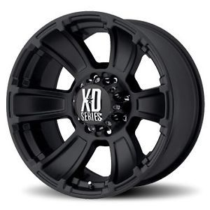 "17"" Black Rims Tires 8x165 Hummer H2 SUT LT315 70 17 Falken Wild Peak At"
