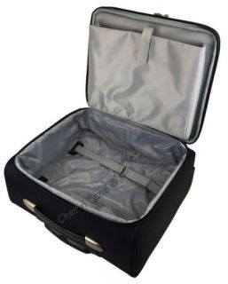 New High Quality Wheeled Business Flight Pilot Bag Case Briefcase Hand Luggage