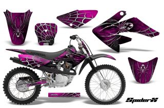 Honda CRF 70 80 100 Graphics Kit Decals Creatorx Spiderx SXP