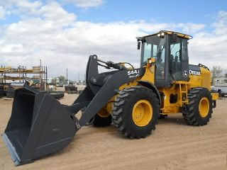 2008 John Deere 544J High Lift Loader Financing Available