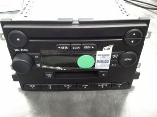 2004 Ford F150 Factory Refurbished Radio CD Cassette