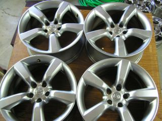 "Nissan 350Z Factory 18"" Wheels Rims Silver 5x114 5x4 5 Set of 4"