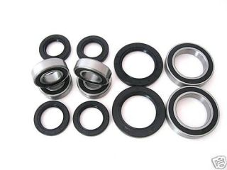 All Wheel and Axle Bearings Seals Kits Yamaha Raptor 660 YFM660R 2004 2005