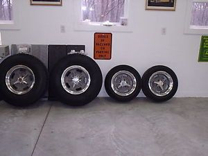 American Racing Salt Flats Wheels Big Little Falken Tires