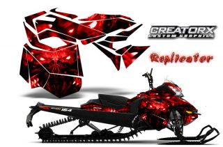 Ski Doo Rev XM Summit Snowmobile Sled Graphics Kit Wrap Creatorx Decal RCR