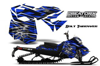 Ski Doo Rev XM Summit Snowmobile Sled Graphics Kit Decal BTBL