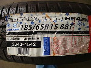 New Falken Eurowinter HS439 185 65R15 88T Winter Snow Tires 185 65R 15