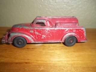 Vintage Manoil Toy Metal Fire Engine Truck 710