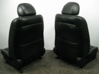 Nissan Altima Leather Heated Bucket Seats 2002 2003 2004 2005 2006