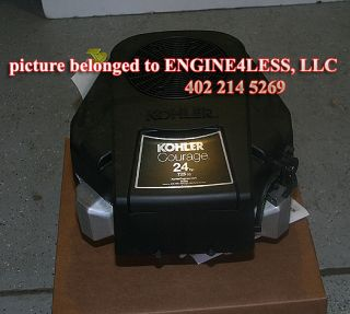 "Kohler Courage PA SV725S 3021 PA SV725 3021 24HP 24 HP 1""Dia Lawn Mower Engine"