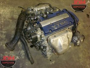 JDM Honda F20B Blue Top Accord Sir Engine Motor Swap 97 01 Accord Prelude