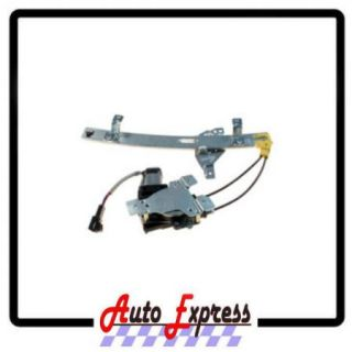 Rear Driver Side Power Window Regulator with Motor 1997 2005 Buick Century Regal