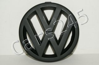 83 97 VW Golf MK2 MK3 Front Grille Emblem New Black