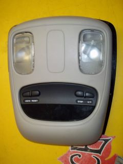 03 Dodge RAM 1500 2500 3500 Crew Cab Pickup Overhead Console with Display