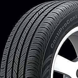 Continental Contiprocontact 205 70 16 Tire Set of 4