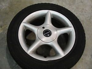 "Borbet 15"" Alloy Wheel Rim SH 70535 4x100 with Continental Tire 205 55 15"