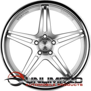 "19"" Vertini Monaco Staggered Wheels Rims Fit Lexus Nissan 350Z 370Z Altima 03"