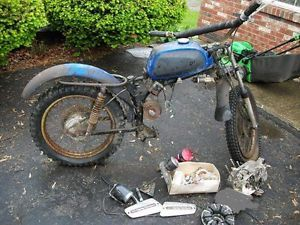 1972 AMF Harley Davidson HD Rapido 125cc for Parts or Restoration