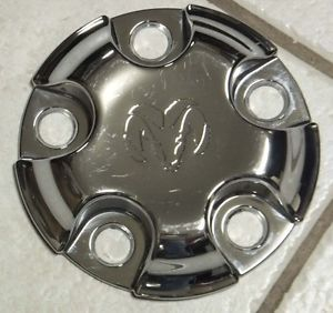 02 03 04 05 06 Dodge RAM 1500 Chrome Alloy Wheel Center Hub Cap Nice