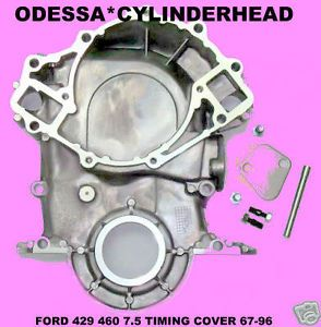 New Ford Lincoln Mercury 429 460 7 5L Cast Aluminum Timing Cover 69 97 TC460N