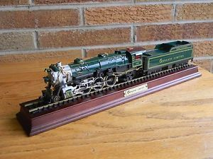 Crescent Limited HO Scale Model Steam Train Locomotive Franklin Mint
