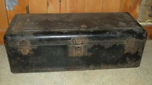 Vintage 1910 1920s Running Board Tool Box Old Car Truck Model T A Ford Rat Rod