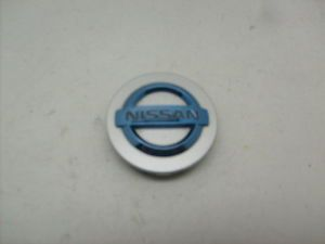 Nissan Altima Maxima 350Z Sentra Wheel Center Cap 40342 AU510 Blue Logo