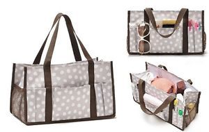 Travel Thirty One Utility Organizer Mini Tote Bag Keep It Caddy 31 Lotsa Dot NN